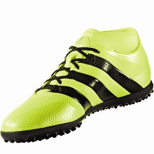 adidas ACE 16.3 Primemesh Turf Speed of Light Pack gelb Knöchelsocke – Bild 2