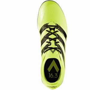 adidas ACE 16.3 Primemesh Turf Speed of Light Pack gelb Knöchelsocke – Bild 4