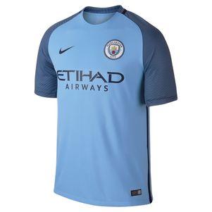Nike Manchester City FC Home Heimtrikot 2016/2017 blau