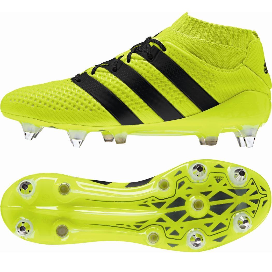 best sneakers 9ae41 86712 adidas ACE 16.1 Primeknit SG Speed of Light Pack Knöchel Socke gelb