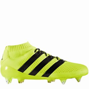 adidas ACE 16.1 Primeknit SG Speed of Light Pack Knöchel Socke gelb – Bild 4