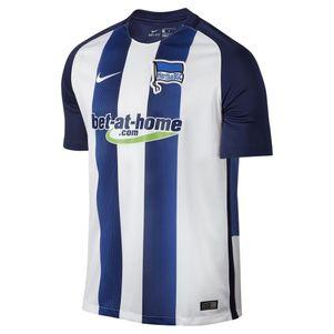 Nike Hertha BSC Berlin Home Heimtrikot 2016/2017 blau/weiß – Bild 1