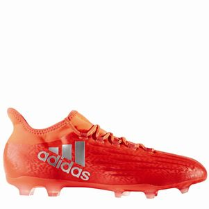 adidas X 16.2 FG Speed of Light Pack Fußballschuhe Techfit Socke rot