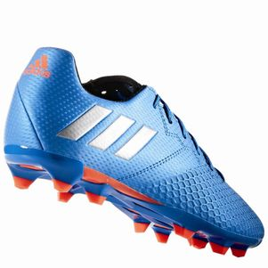 adidas Messi 16.3 Junior FG Speed of Light Pack Fußballschuhe blau – Bild 3