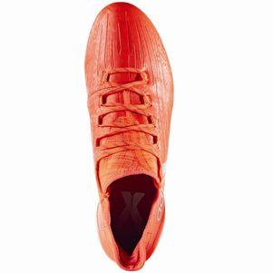 adidas X 16.1 FG Speed of Light Pack Fußballschuhe Techfit Socke rot – Bild 5
