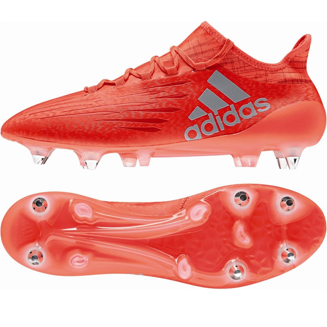 Adidas X 16 1 Sg Speed Of Light Pack Fussballschuhe Techfit Socke Rot