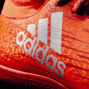 adidas X 16.3 JR Indoor Speed of Light Pack Hallen Fußballschuhe rot – Bild 4