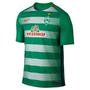 Nike SV Werder Bremen Home Heimtrikot 2016/2017 grün/weiß – Bild 1