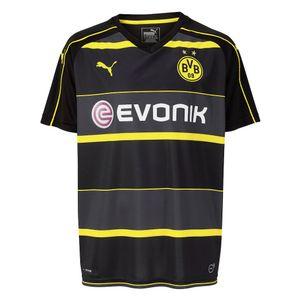 Puma BVB Borussia Dortmund Away Auswärtstrikot 2016/2017 schwarz/gelb – Bild 1