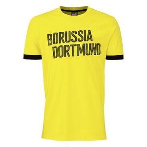 Puma BVB Borussia Dortmund T-Shirt gelb schwarz – Bild 3