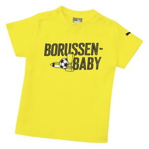 Puma BVB Borussia Dortmund Borussen Baby T-Shirt gelb – Bild 1