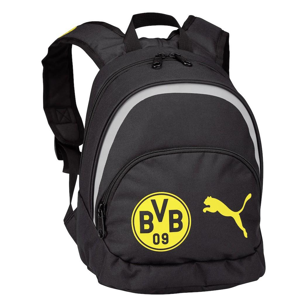 70c8c21d3cb39 Puma BVB Borussia Dortmund Kinder Rucksack schwarz gelb FanShop ...