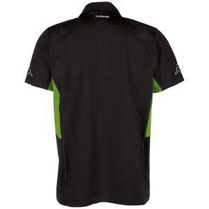 Kappa Borussia Mönchengladbach Freizeit Poloshirt schwarz