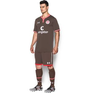 Under Armour FC St. Pauli Home Heimtrikot 2016/2017 braun – Bild 4