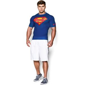 Under Armour Kompressions-Shirt Transform Yourself Batman Superman – Bild 9