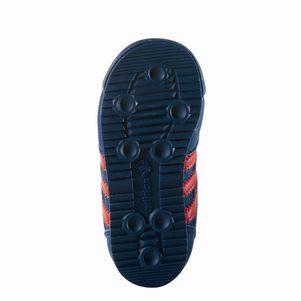 adidas Originals Kinderschuhe Dragon CF I Klettverschluß blau/rot – Bild 6