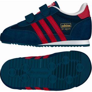 adidas Originals Kinderschuhe Dragon CF I Klettverschluß blau/rot – Bild 1