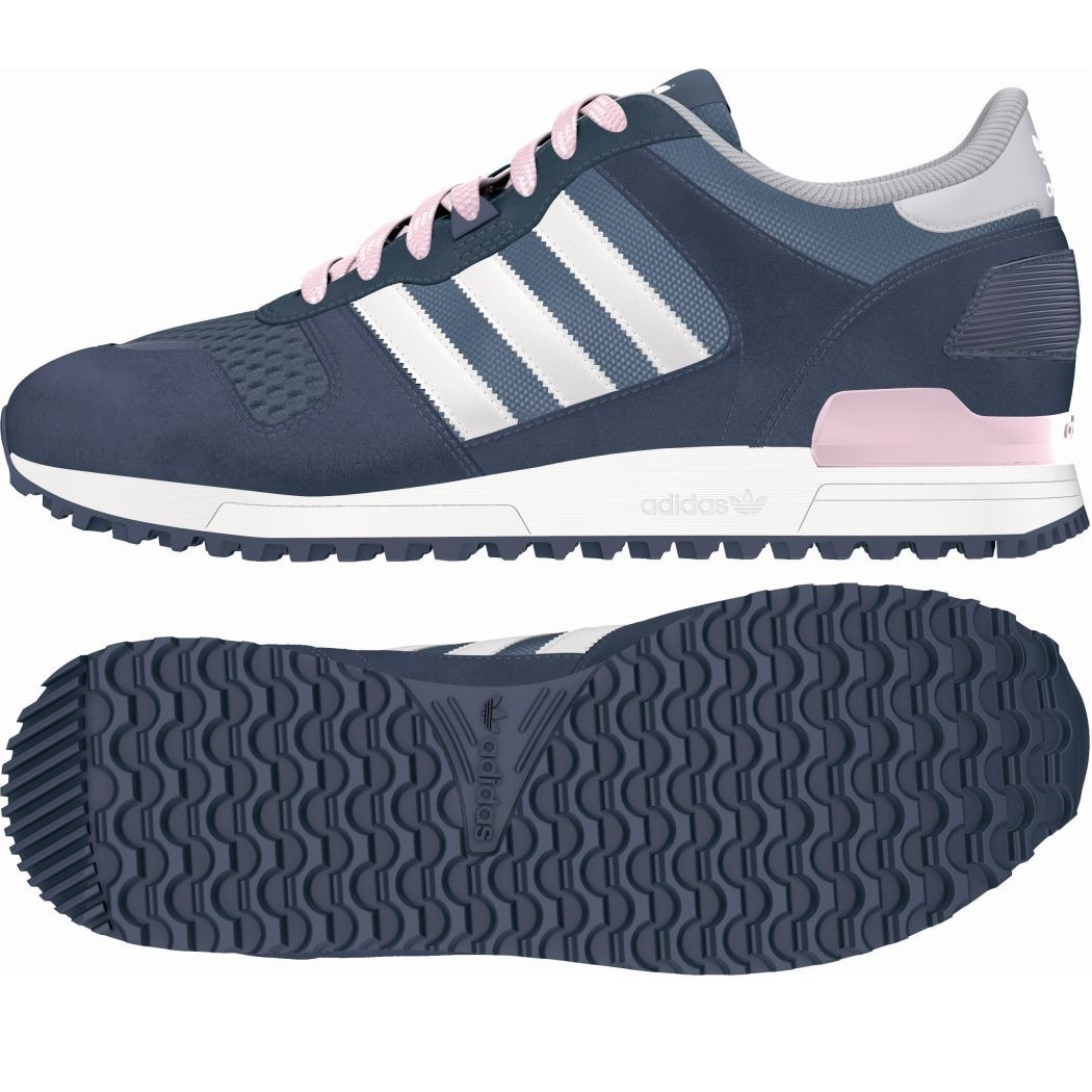 adidas originals zx 700 w damen sneaker blau wei pink mode damen schuhe. Black Bedroom Furniture Sets. Home Design Ideas