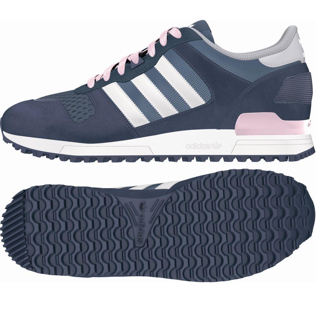 adidas originals zx 700 w damen sneaker blau wei pink. Black Bedroom Furniture Sets. Home Design Ideas