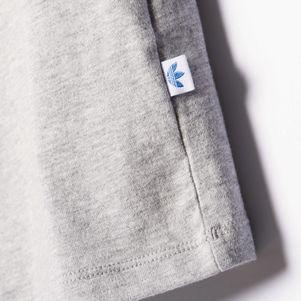 adidas Originals TEE T-Shirt Damen Trefoil grau – Bild 8