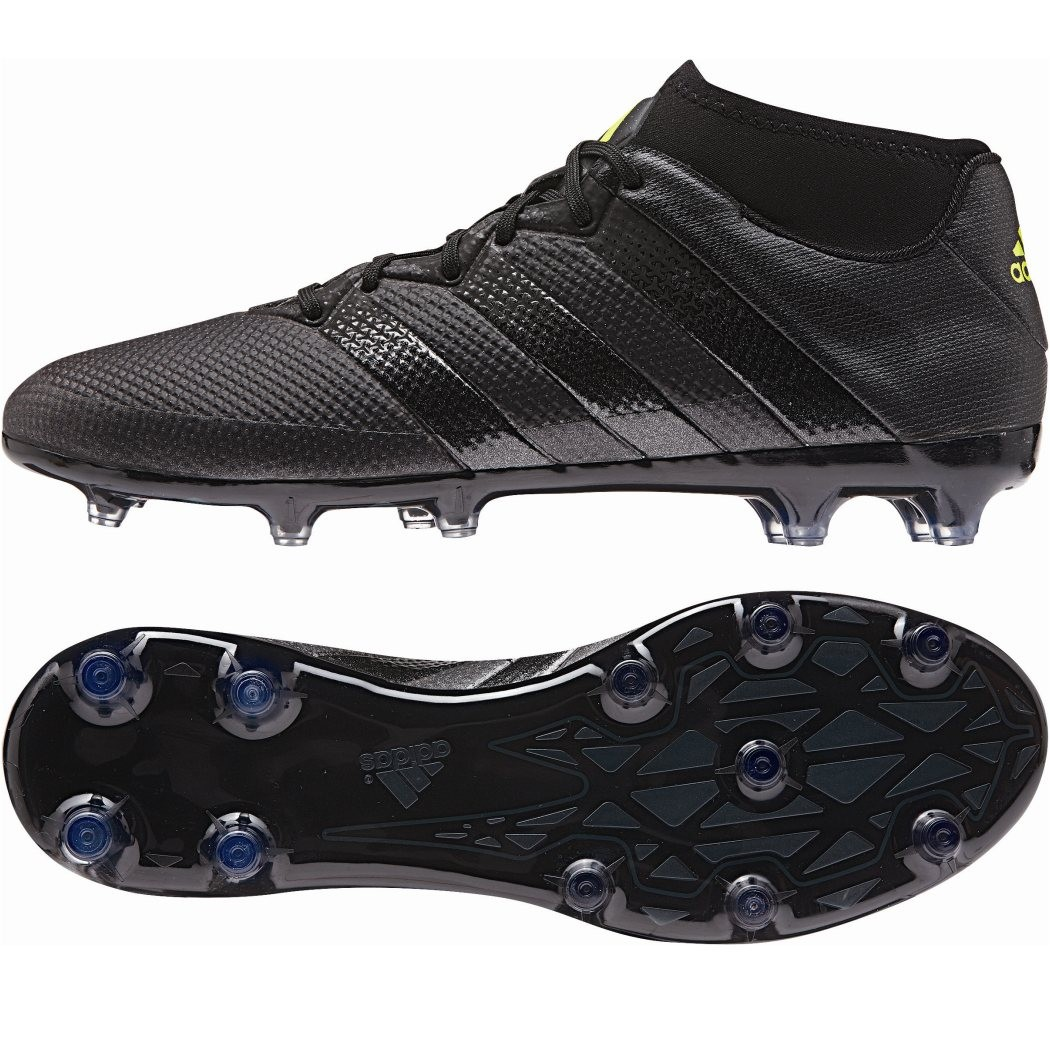 adidas ace 16 2 primemesh fg fu ballschuhe schwarz kn chel. Black Bedroom Furniture Sets. Home Design Ideas