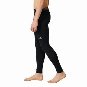 adidas TechFit Climawarm lange Unterziehhose schwarz – Bild 2