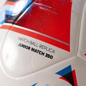 adidas Beau Jeu Fracas Junior 350g Fußball EM 2016 weiß/blau – Bild 4