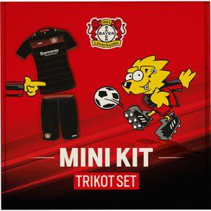 Jako Bayer Leverkusen Mini-Kit Babyset Home 2016/2017 schwarz/rot – Bild 2