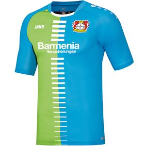 Jako Bayer Leverkusen Trikot Sonderedition Bayer blau/grün 2016/2017 – Bild 1