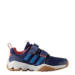 adidas GymPlus 3 CF K Sportschuhe mit Klettverschluß blau/orange – Bild 2