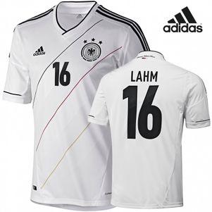 adidas DFB Heim Trikot EM 2012 mit DFB Lahm +Nr. 16