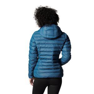 adidas Originals Damen Slim Jacke Daunenjacke blau – Bild 5