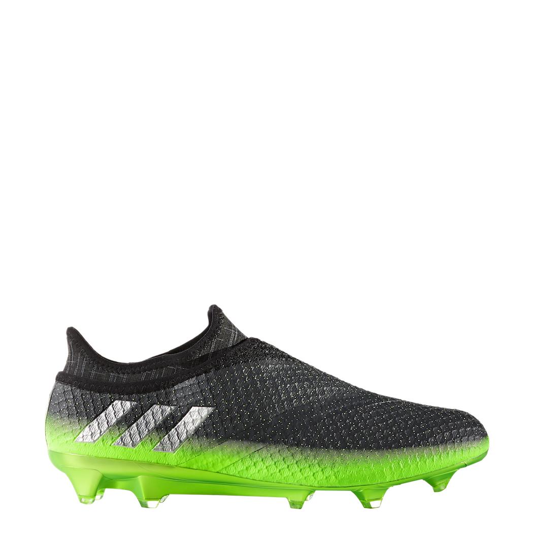 quality design 32a04 08e90 adidas Messi 16+ Pureagility FG Techfit Socke Space Dust grün grau – Bild 2