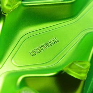 adidas Messi 16+ Pureagility FG Techfit Socke Space Dust grün grau – Bild 8