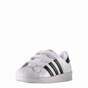 adidas Originals Superstar Foundation J Kinderschuhe CF Klettverschluß – Bild 3