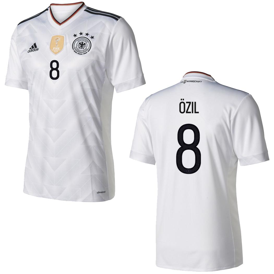 DFB DEUTSCHLAND GÖTZE Flock für Adidas Home Trikot FIFA WM