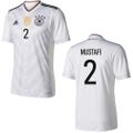 adidas DFB Home Deutschland Heimtrikot Confederations Cup mit Flock weiß 2017