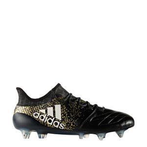 adidas X 16.1 SG Leather Leder Schraubstollen Fußballschuhe Stellar Pack schwarz/gold