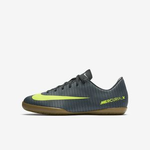 Nike Junior MercurialX Victory VI CR7 IC Discovery Pack grün/gelb