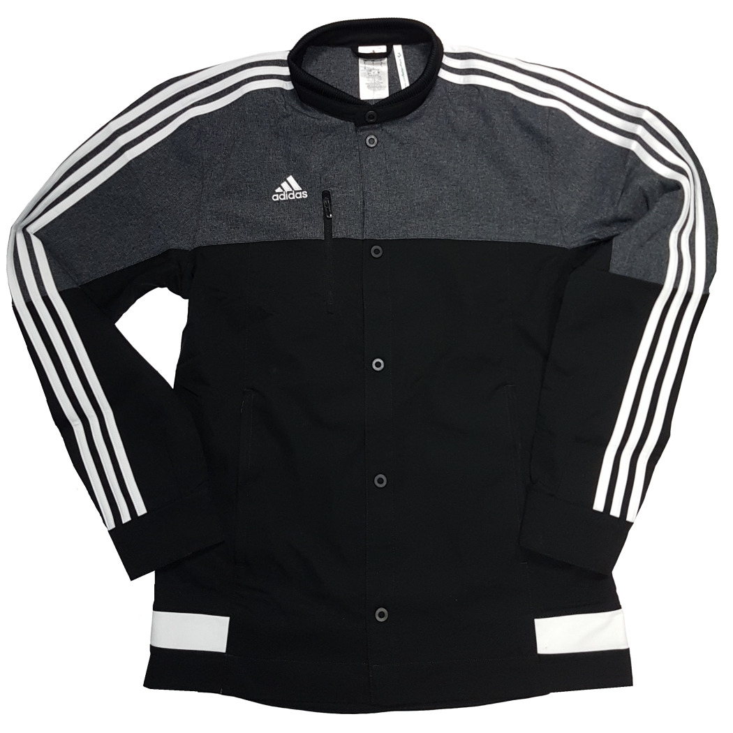 adidas Tiro15 Anthem Jacket Trainingsjacke schwarz/weiß Teamwear Jacken