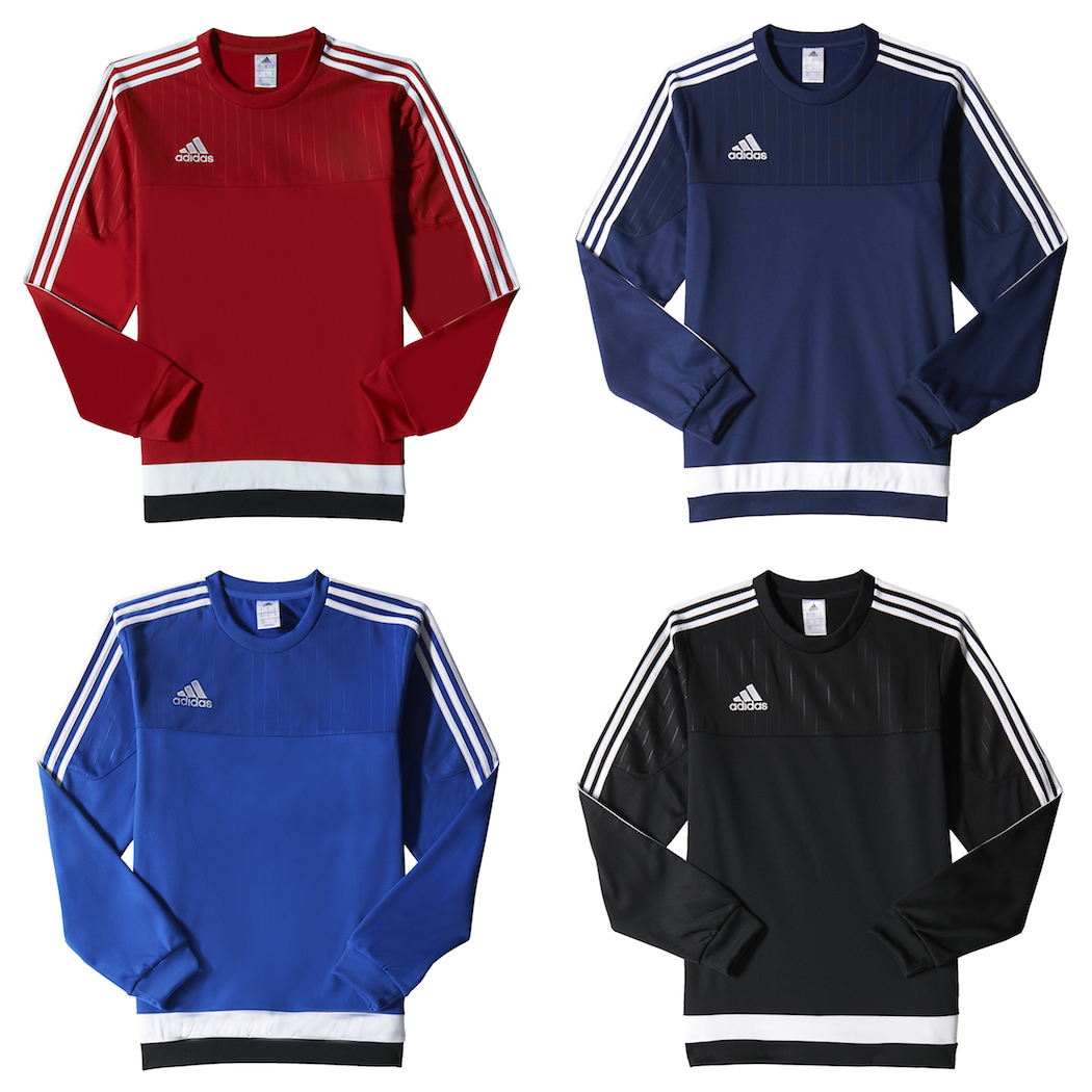 big discount in stock 50% price adidas Tiro15 Sweat Top Sweatshirt Pullover Teamwear Pullover