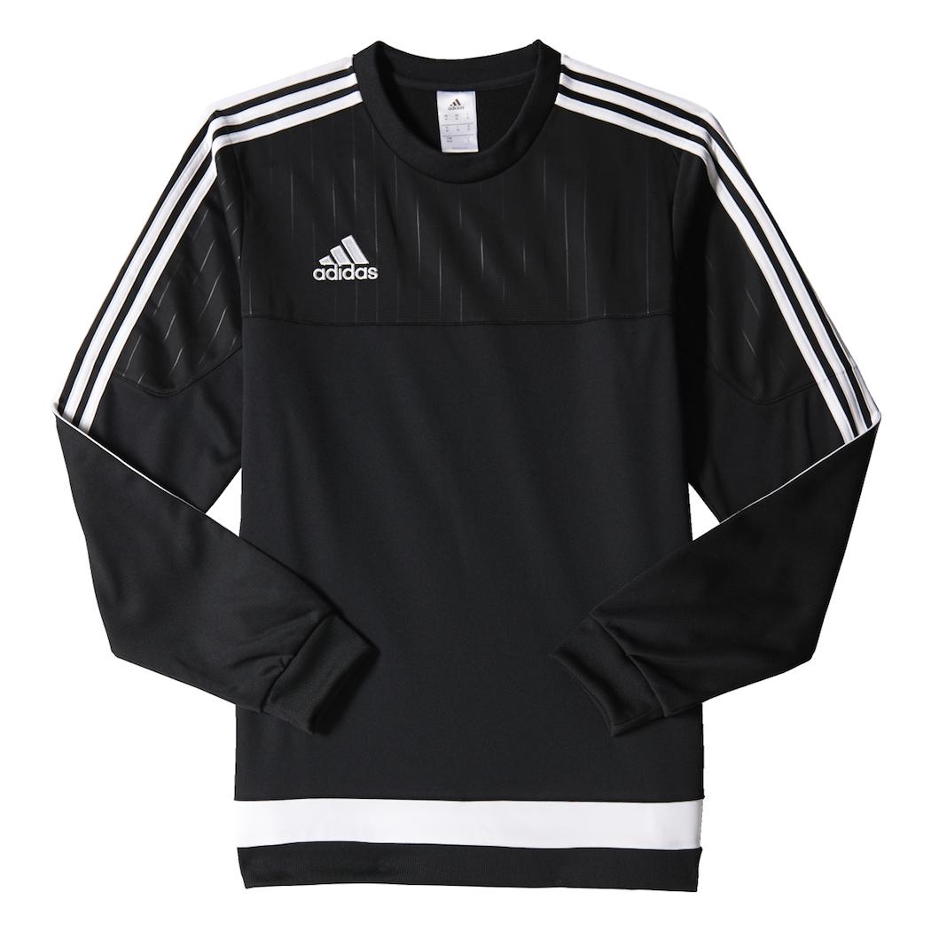 adidas Tiro 15 Sweat Top BlackWhite