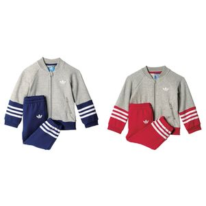 adidas Originals Kinder Fleece Superstar Anzug Baumwolle – Bild 1