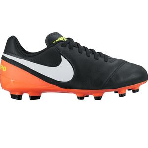 Nike Junior Tiempo Legend VI FG Dark Lightning Pack schwarz/weiß – Bild 1