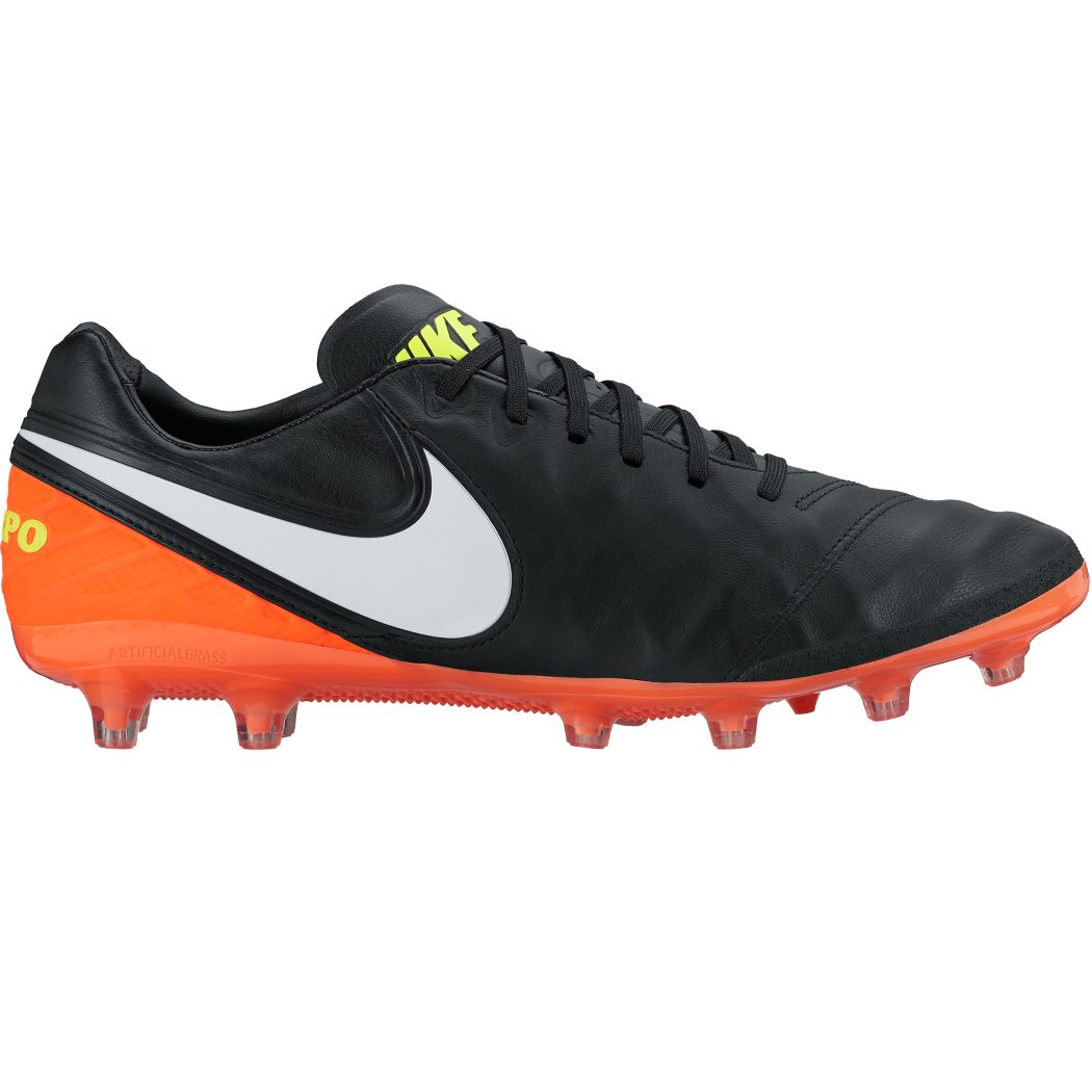 new arrival d9976 acb62 Nike Tiempo Legacy II AG-Pro Dark Lightning Pack schwarz weiß orange ...