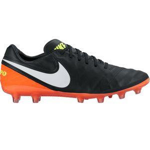 Nike Tiempo Legacy II AG-Pro Dark Lightning Pack schwarz weiß orange – Bild 1