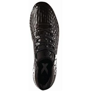 adidas X 16.2 FG Fußballschuhe Checkered Black Pack Socke schwarz – Bild 3