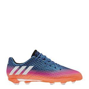 adidas Messi 16.1 Junior FG  Blue Blast Fußballschuhe blau/weiß/orange – Bild 1