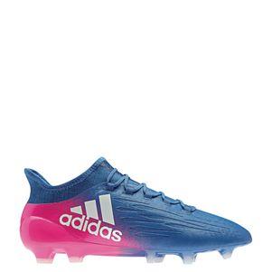 adidas X 16.1 FG Blue Blast Fußballschuhe blau/weiß/pink – Bild 1
