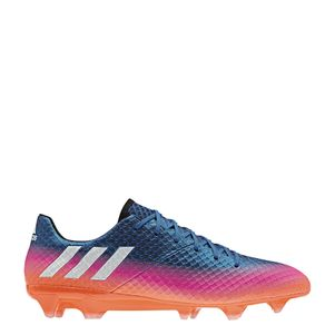 adidas Messi 16.1 FG Blue Blast Pack blau/weiß/orange – Bild 1